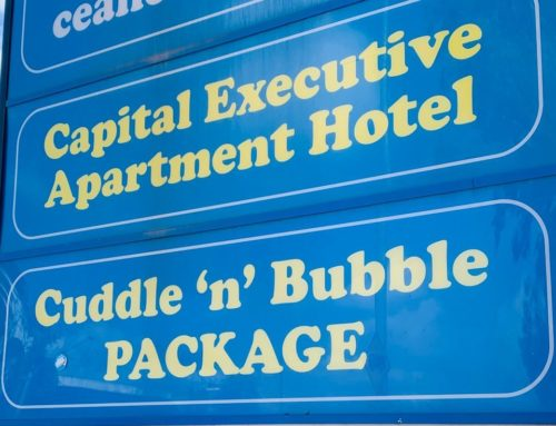 Don't believe the signs: the Cuddle 'n' Bubble Package no longer exists